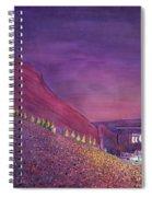 Furthur Red Rocks Equinox Spiral Notebook