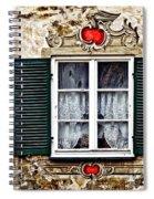 Fussen Window Spiral Notebook