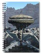 Future Pod City Spiral Notebook