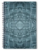 Future Sci Fi City Spiral Notebook