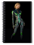 Future Woman... Spiral Notebook