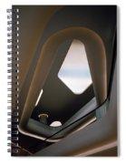 Futuristic Dream Spiral Notebook
