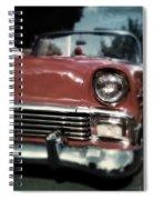 Fuzzy Dice Chevy Spiral Notebook