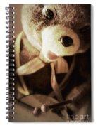 Fuzzy Drummer Spiral Notebook