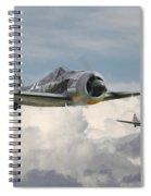 Fw 190 - Butcher Bird Spiral Notebook