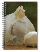 G Is For Garlic Spiral Notebook
