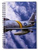 Gabby's F-86e Spiral Notebook