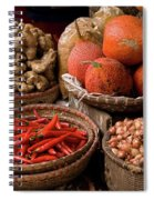 Gac Fruit 01 Spiral Notebook