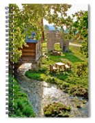 Gacka River Spring Watermill And Historic Ruins Spiral Notebook