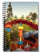 Gadget Go Coaster Disneyland Toontown Spiral Notebook