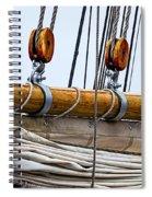 Gaff And Mainsail Spiral Notebook