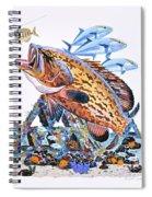 Gag Grouper Spiral Notebook