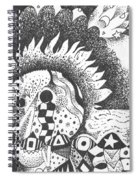 Gaining Knowledge In An Unknown Territory Spiral Notebook
