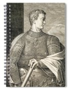 Gaius Caesar Caligula Emperor Of Rome Spiral Notebook