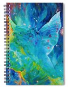 Galactic Angel Spiral Notebook