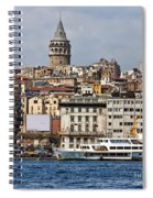 Galata Tower 03 Spiral Notebook