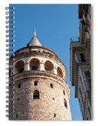 Galata Tower 03 Spiral Notebook