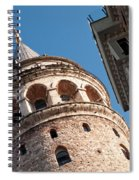 Galata Tower 04 Spiral Notebook