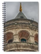 Galata Tower Istanbul Spiral Notebook