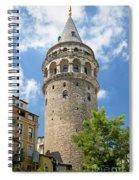 Galata Tower Landmark In Istanbul Turkey Spiral Notebook
