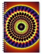 Galaxy Spotlight Kaleidoscope Spiral Notebook