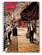 Galena Illinois Happy Shopper Spiral Notebook
