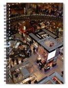 Galeries Lafayette Lights Spiral Notebook