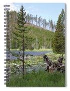 Gallatin River Yellowstone  Spiral Notebook