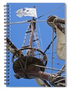 Galleon Lookout Nest Spiral Notebook
