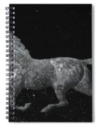 Galloping Through The Universe Spiral Notebook