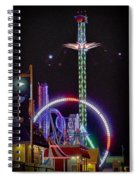 Galveston Pleasure Pier Spiral Notebook