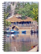 Gambian Fishing Village Spiral Notebook