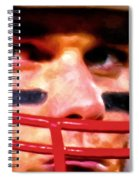 Game Face Spiral Notebook