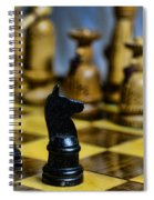 Game Of Chess Spiral Notebook