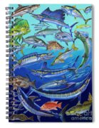Gamefish Collage In0031 Spiral Notebook