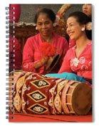 Gamelan 02 Spiral Notebook