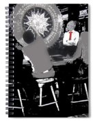 Gaming Tables Interior Binion's Horseshoe Casino Las Vegas Nevada 1979-2014 Spiral Notebook