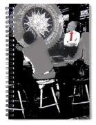 Gaming Tables Interior Binion's Horseshoe Casino Las Vegas Nevada 1979-2014 Spiral Notebook