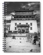Gandantegchenling Monastery Spiral Notebook