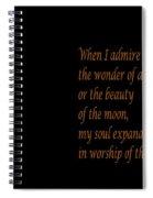 Gandhi Quote Spiral Notebook