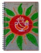 Ganesh Rangoli Spiral Notebook