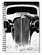 Gangster Car Spiral Notebook
