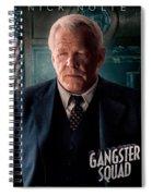 Gangster Squad Nolte Spiral Notebook