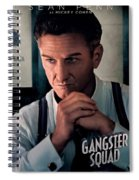 Gangster Squad Penn Spiral Notebook