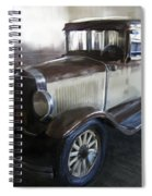 Gansgter Era Automobile Spiral Notebook