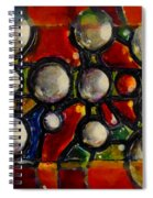 Gaps Between Worlds Spiral Notebook