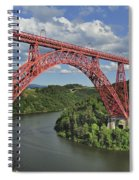 Garabit Viaduct Spiral Notebook