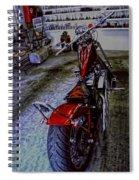 Garage Kept Chopper Spiral Notebook
