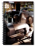 Garage Tour Spiral Notebook