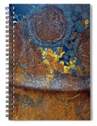 Garbage Can Abstract Spiral Notebook